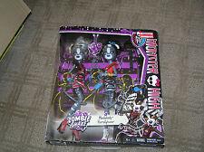 monster high zombie shake meowlody & purrsephone Mattel