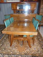 Très belle table de salle à manger Art Déco des années 50 60