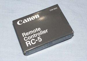 Canon RC-5 Infrared Remote Control / Shutter release Canon Camera