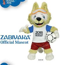 FIFA 2018 World Russia Soccer Zabivaka Official Mascot Plush Wolf Licensed 25 cm