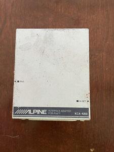 Alpine KCA-420i Interface Adapter For iPod/ IPad/ IPhone