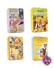 CLASSIC DISNEY FILM POSTER LUNCH TIN TOTE BOX DUMBO JUNGLE BOOK CINDERELLA LADY