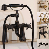 Antique/Black /ORB Hand Shower Faucet With Hand Spray Telephone Bathtub Taps