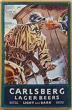 Carlsberg Lager/Weissbeer Breweriana Advertising
