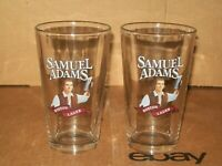 SET OF 2 SAMUEL ADAMS BOSTON LAGER PINT GLASSES / 16 oz.