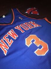 Williams authentic adidas game worn Steiner rev 30 NY Knicks jersey mesh signed!