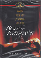 Dvd **BODY OF EVIDENCE ~ IL CORPO DEL REATO** con Madonna nuovo sigillato 1992