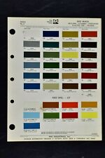 1972 Buick & Opel Gt Paint Chips