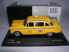 WhiteBox Checker Marathon New York Taxi anno di costruzione 1963, 1:43 lim.