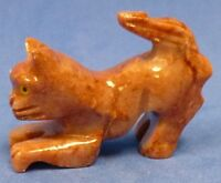 Hand Carved Stone Animal YOUR CHOICE Good Luck Figurine MANY NEW KINDS insect