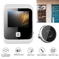 3.0inch 170° Digital LCD Peephole Viewer Doorbell Cat Eye Camera Video Recorder