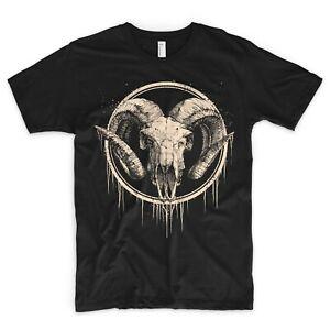 Lamb T Shirt Kult Skull Skeleton Dead Death Heavy Black Metal Satan Pentagram