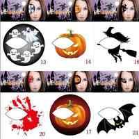 Fun Makeup Halloween Temporary Eye Tattoo Eyeshadow Eyeliner Transfer Sticker