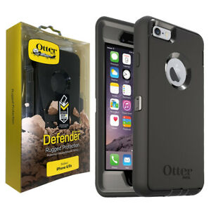 OtterBox Defender Series Rugged Case Cover for Apple iPhone 6 & 6s - Black
