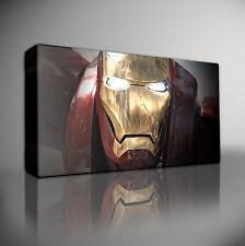 IRON MAN Marvel Avengers - PREMIUM Large Giclee CANVAS Wall Art