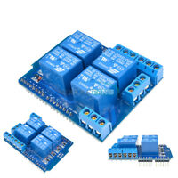 DC 5V 4 Channel Relay Module Shield Terminal Relay Board for Arduino UNO R3