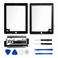 Touch Screen Digitizer Black Replacement  Assembly For iPad 2 A1395 A1396 A1397