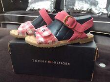 Girls pink Sandals size 26 Tommy Hilfiger BNIB