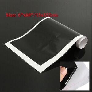 "1x 6""x60"" Black Reflective Windshield Banner vinyl sticker decal Sun Strip Visor"