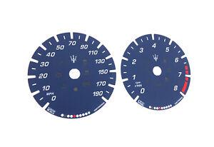 Maserati Ghibli, Levante - OEM Speedometer dials MPH Gauges