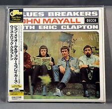 Eric CLAPTON John MAYALL Bluesbreakers Orig. 2001 JAPAN Mini LP CD NEW UICY-9169
