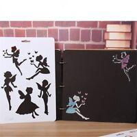 Butterfly Fairy DIY Masking Spray Stencil Layering Stencils Scrapbook Album