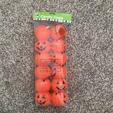 12 Halloween Pumpkin Candy Cups