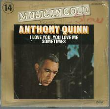 45 TOURS 2 TITRES ANTHONY  QUINN  I LOVE YOU  YOU LOVE ME     B3