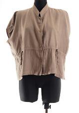 Masai Womens Green/Beige Top Blouse Shirt Size Small