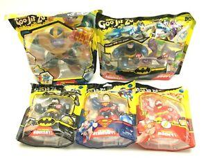 Heroes of Goo Jit Zu DC Superheroes Superman Flash Batman Thanos Hero Pack