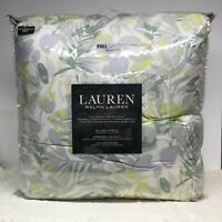Ralph Lauren Full Queen Size Comforter Sham Tropical Coastal 3 Piece Set NEW