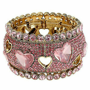 Pink Heart Cut Cubic Zircon Ring for Women 925 Silver Wedding Jewelry Rings Gift