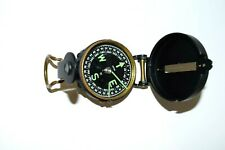 Vintage Engineer Directional Lensatic Compass camping hiking scouts Exc. Japan