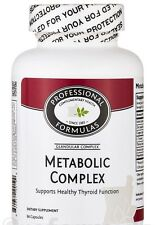 METABOLIC COMPLEX GLANDULAR SUPPLEMENT NATURAL NEW ZEALAND THYROID CONCENTRATE
