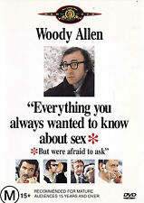 EVERYTHING YOU WANTED TO KNOW ABOUT SEX Woody Allen DVD R4 - PAL