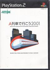 Video Game - SONY PLAYSTATION 2 - TAKE THE A TRAIN 2001 (JAPANESE) - Complete