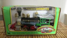 Vintage 1989 Toy Train The Old Smokey Express Real Smoke Sound Light Moves New