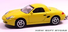 RARE KEY CHAIN RING YELLOW PORSCHE BOXSTER S GT GTS HARD TOP NEW LIMITED EDITION