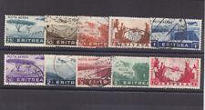 CC365-COLONIE ITALIANE-ERITREA POSTA AEREA 1936 SOGGETTI AFRICANI