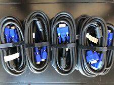 3x VGA Kabel Set 5m Profi Qualität - NEU