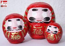 達磨セットDaruma Set (x3) - Small, medium, large Daruma  - Made in Japan