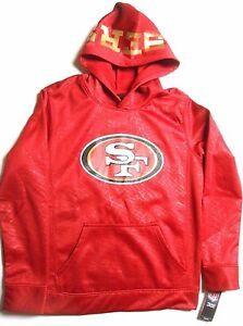 San Francisco 49ers XLarge Youth Hoodie Sweatshirt Official NFL Licensed Product