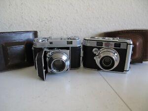 Kodak Retina IIa Folder & Kodak Signet 40 Small Rangefinder
