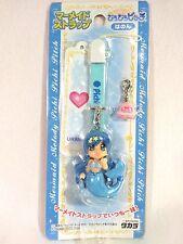 Mermaid Melody PICHI PICHI PITCH HANON Figure Strap TAKARA Tomy with URANAI CARD