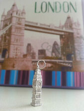 NEW Sterling Silver Big Ben Pendant/Charm