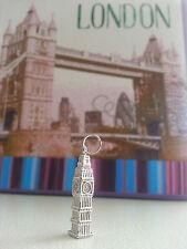 NEW Sterling Silver Big Ben Pendant/Charm