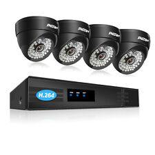 1Tmezon 4MP PoE IP Camera 8CH NVR Security Outdoor Surveillance System Dome WDR