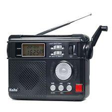 Kaito Ka346 Digital Am/Fm Noaa Weather Alert Emergency Radio and Flashlight