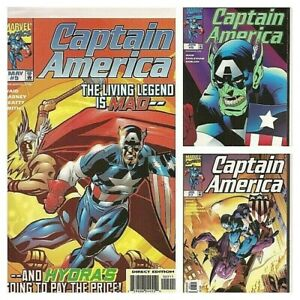°CAPTAIN AMERICA Vol 3 #4 - 7 POWER & GLORY 1 bis 3 von 3°US Marvel 1998 M. Waid