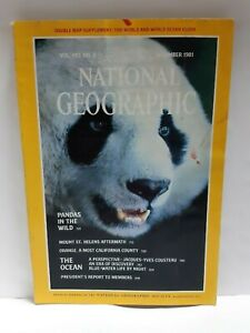 National Geographic magazine December 1981